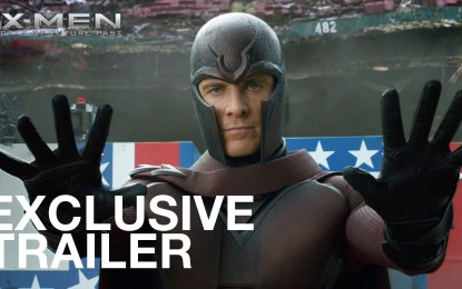 El anuncio oficial de la pelicula X-Men: Days of Future Past
