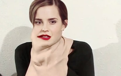 Emma Watson se transforma en Sofía Vergara ? – Video