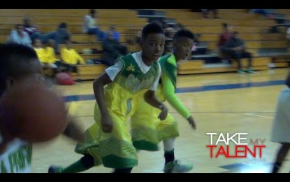 VÍDEO: LeBron James Jr. se roba el show