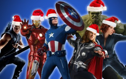 "VÍDEO: ""The Avengers"" cantan canciones navideñas"