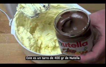 Aprende A Hacer Este Simple Cheesecake De Nutella Sin Hornear