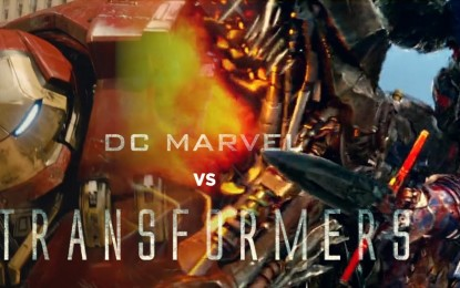 Epic Fan Video Transformers vs. Avengers y Justice League