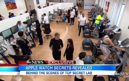 VÍDEO: Muestran laboratorio secreto de Apple