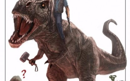 Marvel Studios Felicita a Jurassic World