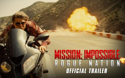 El Anuncio Oficial de Mission Impossible Rogue Nation