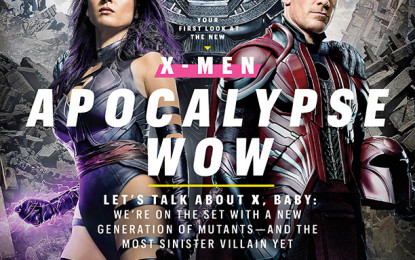 Entertainment Weekly con su Exclusivo Cover de X-Men Apocalypse