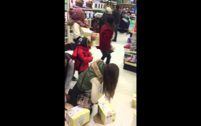 La violencia en el Black friday : (Videos)