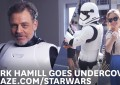 Mark Hamill El Famoso Luke Skywalker se Disfraza de Stormtrooper (Video)