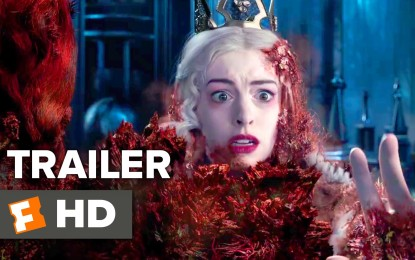 El Nuevo Anuncio de la Pelicula Alice Through the Looking Glass