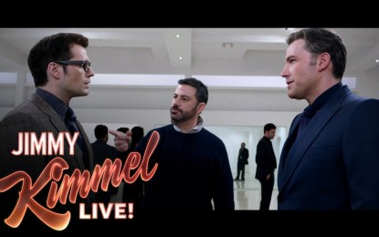 Jimmy Kimmel hace Parodia de la Pelicula Batman v Superman Dawn of Justice