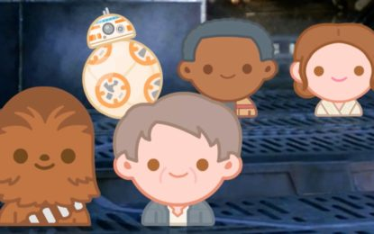 Disney hace la Pelicula de Star Wars The Force Awakens Estilo Emoji