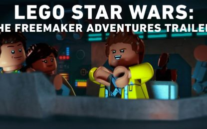 El Anuncio de la Nueva Serie de Disney Lego Star Wars The Freemaker Adventures
