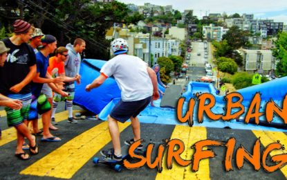 Urban Surfing en las Calles de San Francisco (Video)