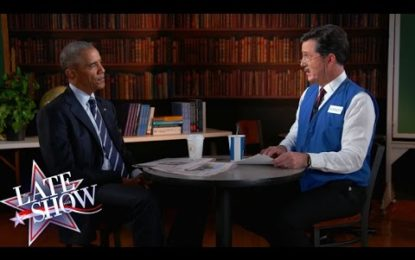 El divertido sketch de Obama buscando empleo [VIDEO]