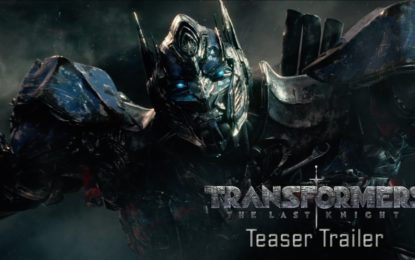 El Primer Anuncio de Transformers: The Last Knight