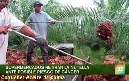 Video – Supermercados retiran la Nutella ante posible riesgo de cáncer
