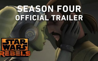 El Anuncio Oficial de Lucasfilm Star Wars Rebels Season 4