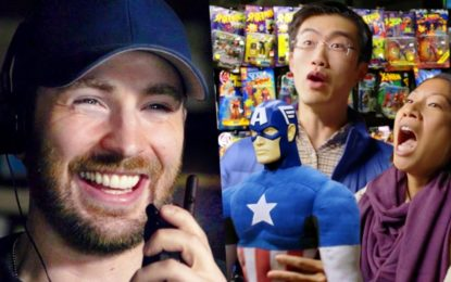 El Famoso Actor Chris Evans les Juega una Broma a Fans de Captain America (Video)