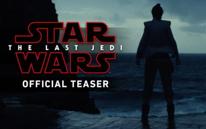 El Primer Anuncio de LucasFilms Star Wars The Last Jedi