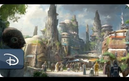 Lucasfilm y Walt Disney Imagineering Revelan el Parque Star Wars Land (Video)