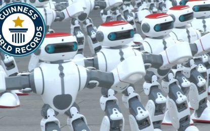 1.000 robots bailarines logran un récord mundial en China [VIDEO]