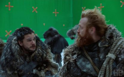 Behind The Scenes of The Epic Frozen Lake Battle on Game of Thrones (Video)