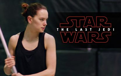 El Training de Star Wars The Last Jedi (Video)