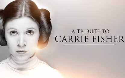 Tributo a Carrie Fisher (Princess Leia) Star Wars The Last Jedi (Video)